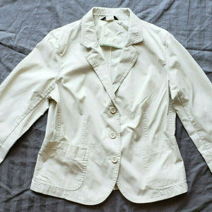 J. Crew Womens Light Khaki Blazer Jacket Large